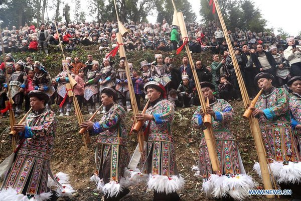 'Gu Zang' Festival Celebrated in Guizhou